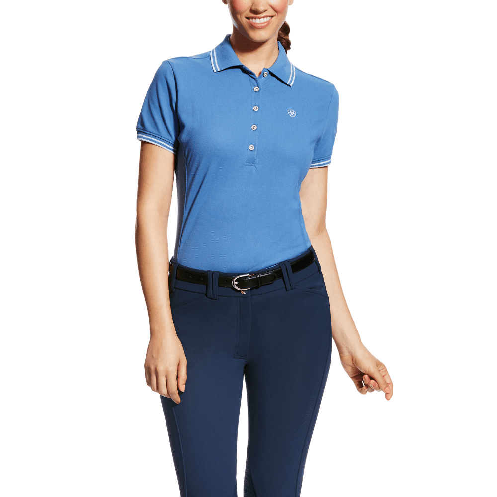 35e468e249d065 Ariat Womens Prix Polo Shirt - Womens from Fearns Farm UK