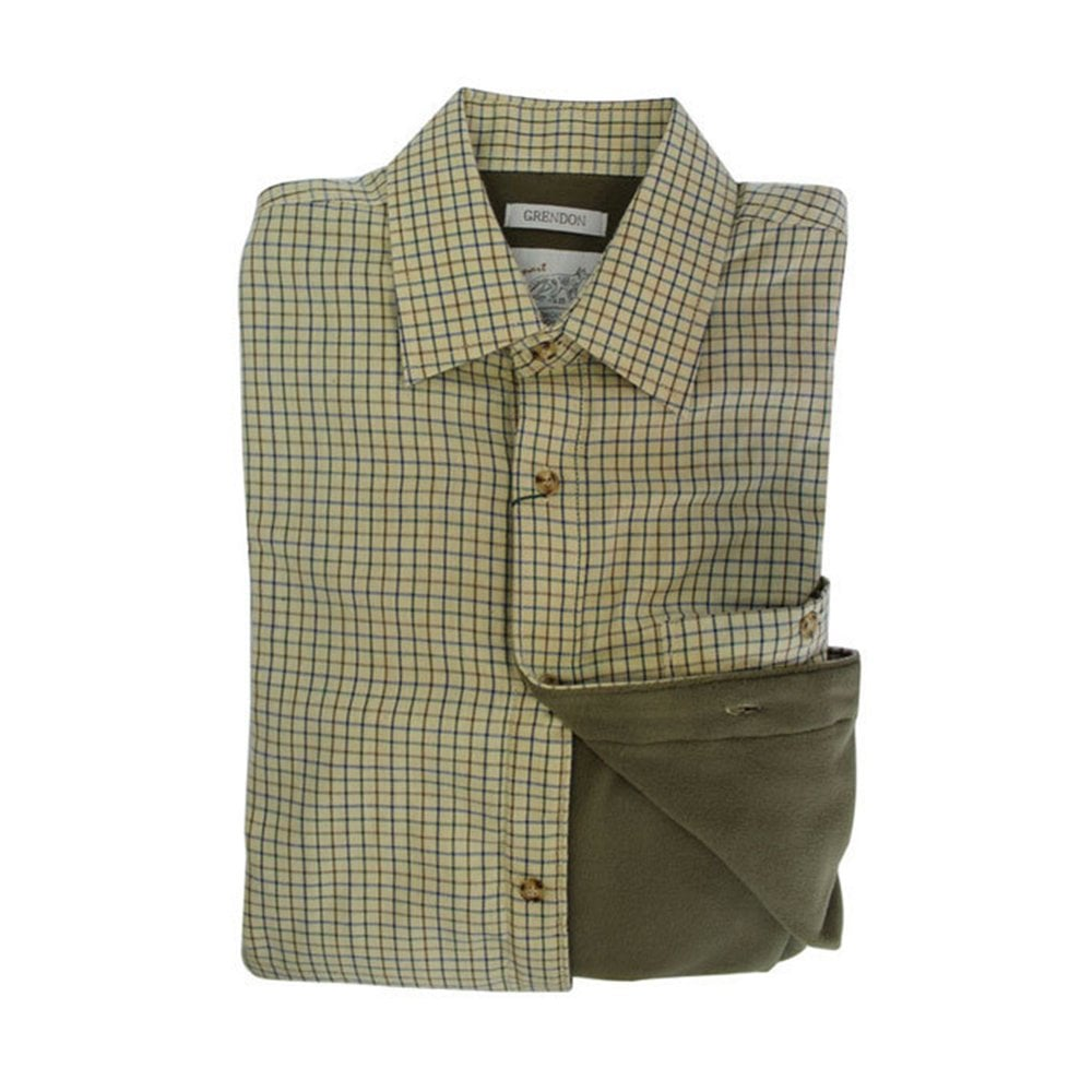 fa9fa7193cd58 Bonart Childrens Grendon Fleece-Lined Shirt - Childrens from Fearns ...