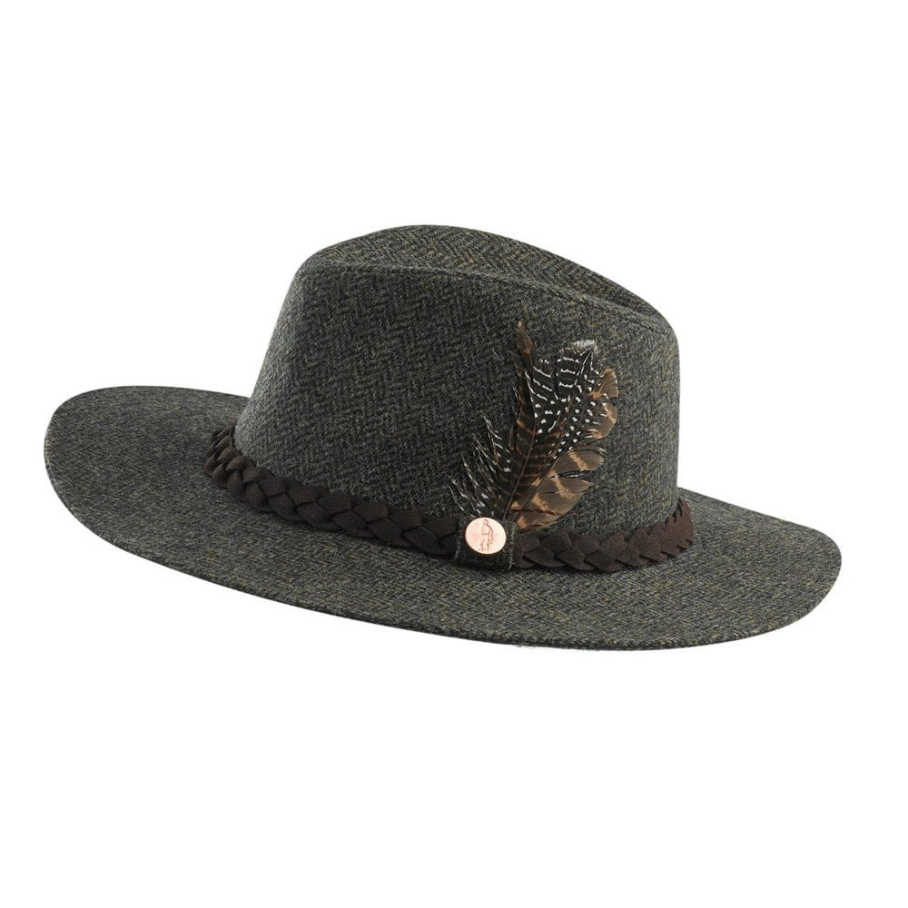1acf04a46ff Jack Murphy Womens Dakota Dream Tweed Hat - Womens from Fearns Farm UK