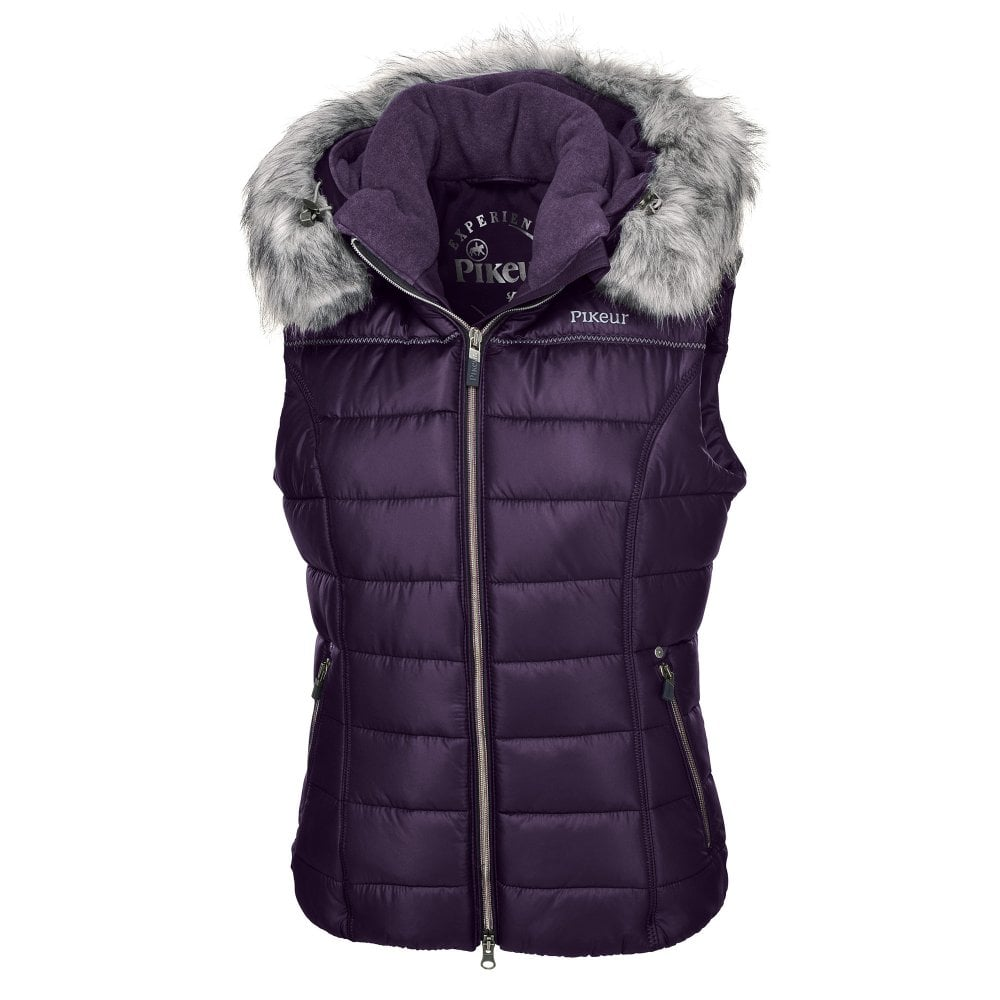 Pikeur Womens Amica Quilted Gilet - Womens from Fearns Farm UK da8476d66f803